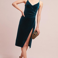 Ursa Velvet Wrap Dress