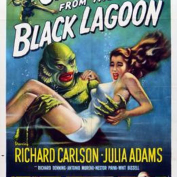 Creature From The Black Lagoon Movie Poster 11x17 Mini Poster