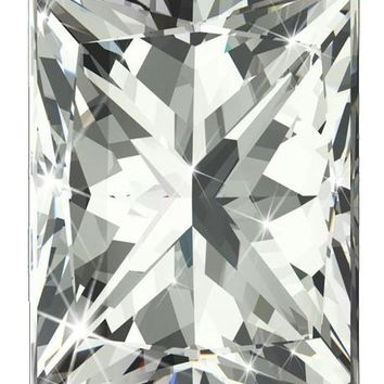 2ct Rectangular Radiant Cut Diamond Veneer Loose Stone