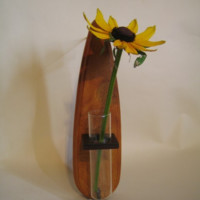 Wall Vase made from Japanese Timber