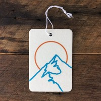 Broken Mountain Air Freshener
