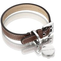 Hennessy & Sons Oxford Leather Dog Collar - Chocolate