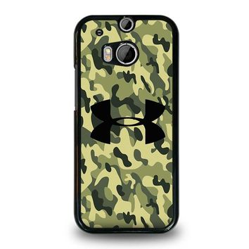 CAMO BAPE UNDER ARMOUR HTC One M8 Case Cover