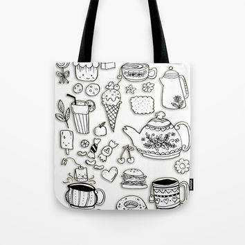 Forever Tea Time 2 Tote Bag by Shashira Handmaker