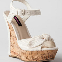 POMPEY CROCHET WEDGE