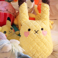 Softy Pikachu Plush - Pokemon Plush Pillow or Doll