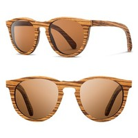 Women's Shwood 'Belmont' 53mm Polarized Sunglasses