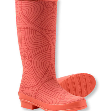 Freeport Wellies, Print: Rain Boots | Free Shipping at L.L.Bean