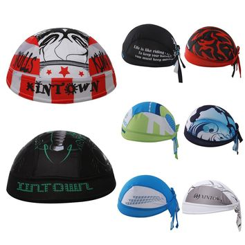 8 Style Unisex Quick-dry Ciclismo Bike Cycling Cap Headscarf Pirate Scarf Headband Women Men Hood MTB Racing Bicycle Hat New
