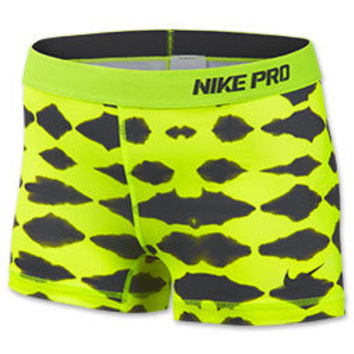 Women's Nike Pro Core Tie Dye 2.5 Inch Compression Shorts