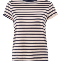 Stripe Roll Back T-Shirt