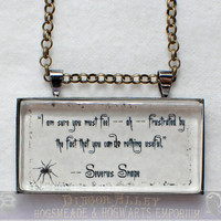 Limb and Fingers Jewelry Shop Severus Snape Quote by DiagonAlley