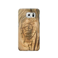 P1141 Wood Skin Graphic Phone Case For Samsung Galaxy S6 edge