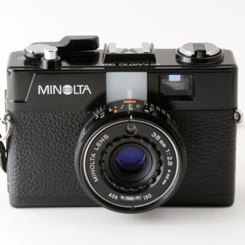 Minolta Hi-Matic Hi Matic G2 35mm Point and Shoot Camera - Working
