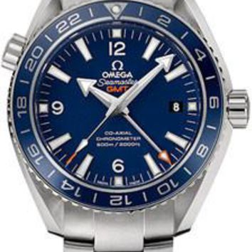 Omega - Seamaster Planet Ocean 600 M Co-Axial GMT 43.5mm - Titanium