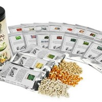 Survival Seed Vault - Heirloom Emergency Survival Seeds - Plant a Full Acre Crisis Victory Garden - 20 Easy-to-grow Varietie