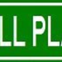 SOFTBALL PLAYER Street Sign ~ Custom Aluminum Street Signs - 4 x 18 inches