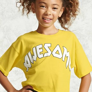 Girls Awesome Tee (Kids)