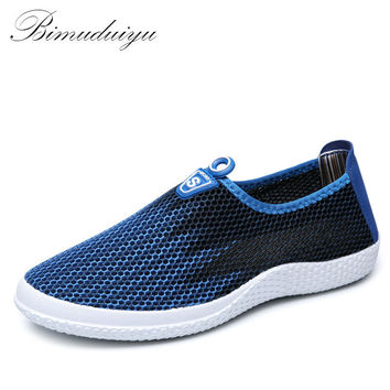 Summer Style Male Lazy Network Casual Shoes Foot Wrapping Breathable Mesh Shoes Men