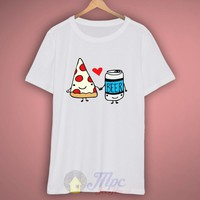 Pizza Beer Best Friend T-Shirt – Mpcteehouse.com