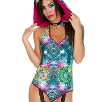 Connected Spirits Hooded Romper