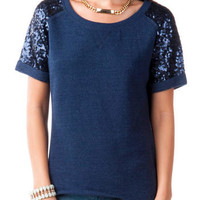 MALONE SEQUIN TOP