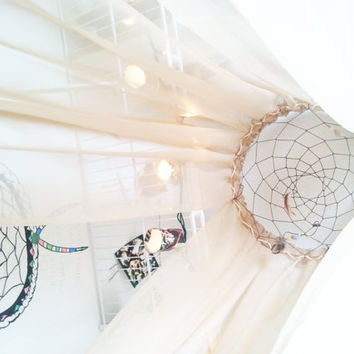 Hanging Dream Catcher Bed Canopy
