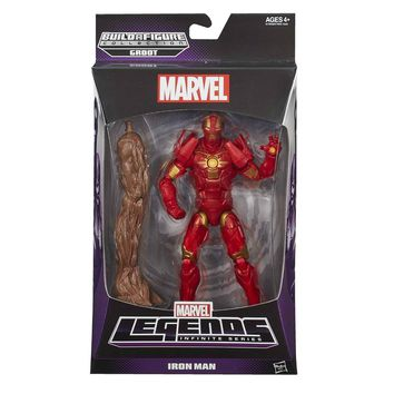 Iron Man Guardians Of The Galaxy Marvel Legends 6-Inch Action Figure