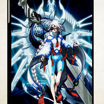 BlazBlue Nu-13  X1514 iPad 2 3 4, iPad Mini 1 2 3, iPad Air 1 2 , Galaxy Tab 1 2 3, Galaxy Note 8.0 Cases