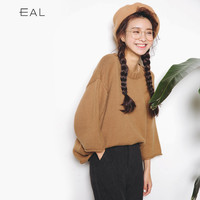 Sweater Korean Pullover Round-neck Knit Loudspeaker [6466229828]
