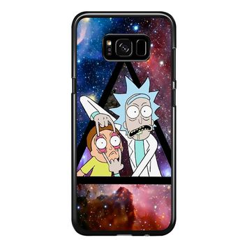 Rick Morty Galaxy Nebula Samsung Galaxy S8 Plus Case