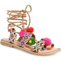 Chinese Laundry 'Posh' Embellished Lace-Up Sandal (Women) | Nordstrom