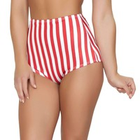 Roma Rave SH3090 - American Flag High-Waisted Shorts