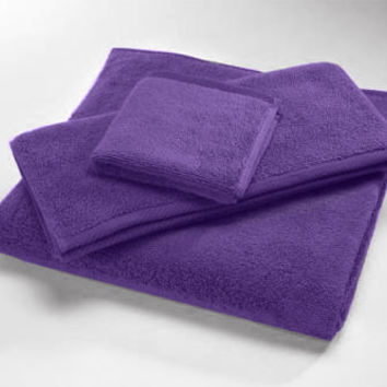 Violet MicroCotton Luxury Towels