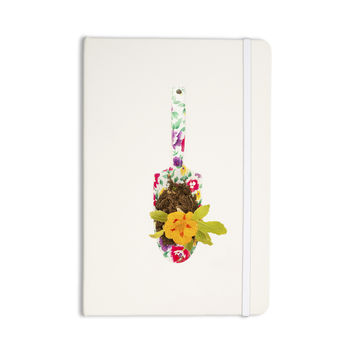 "Ingrid Beddoes ""The Gardener"" Beige Multicolor Everything Notebook"