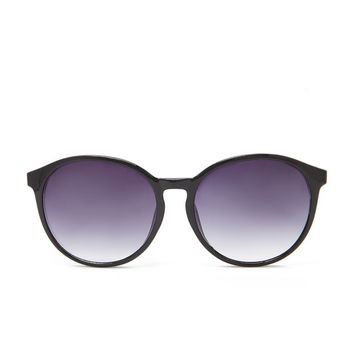 Plated Round Sunglasses   Forever 21 - 1000205890