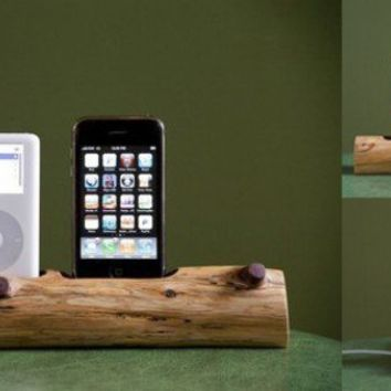 Woodtec Docking Station ? ACCESSORIES -- Better Living Through Design