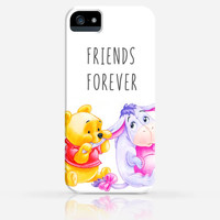 Baby Pooh and Eeyore Friends Forever iPhone 4 Case, iPhone 4s Case, iPhone 5 Case, iPhone 5s Case, iPhone Hard Plastic Case