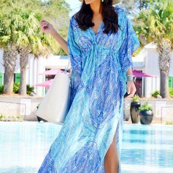 One With Waves Caftan