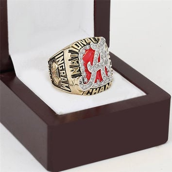 Crimson Tide Championship Ring 2009 Replica NCAA Alabama College Football National Rings Fashio