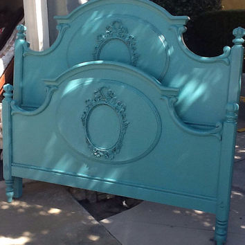 Reserved for Tara- French Provincial Queen Bed by Lexington