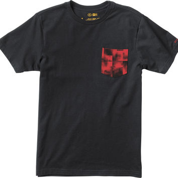 RVCA Francesco Tee Men Black