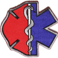 Firefighter EMT Emblems Patch