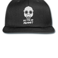 DOCTOR WHO ARE YOU MY MOMMY Embroidery - Snapback Hat
