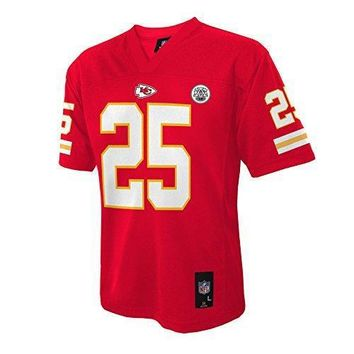 Nfl Kansas City Chiefs Jamaal Charles Youth Boys 8 20 Mid Tier Jersey