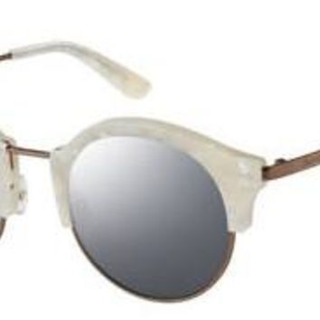 a7d3a18bf3 Juicy Couture - Ju 601 S White Marble Sunglasses   Silver Mirror