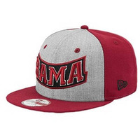 Alabama Crimson Tide Snapback 9Fifty Hat New Era Small-Medium Fit New with Stickers