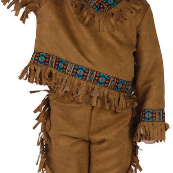 toddler boy's costume: american indian | 1t-2t
