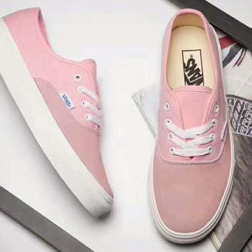 Vans Vault OG Authentic LX sports shoes Casual shoes light pink G-PSXY