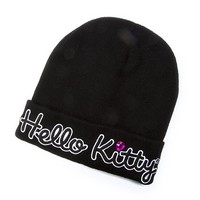 Hello Kitty Knit Hat | Claire's